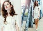 Suknia ślubna z sieciówki: bluzka i spódnica